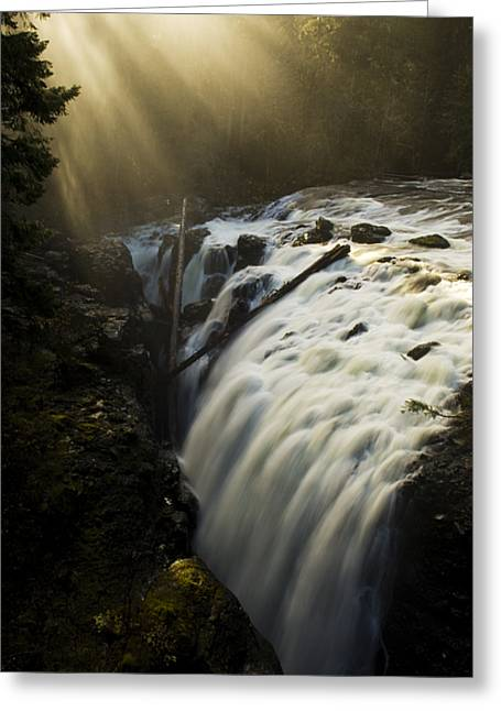 Englishman Falls 2 Greeting Card