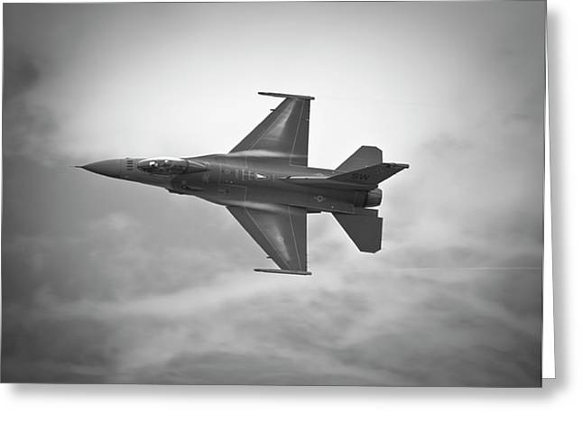 F-16 Fighting Falcon Greeting Card