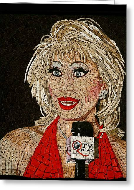 First Lady Donna Sachet Greeting Card by Michael Kruzich