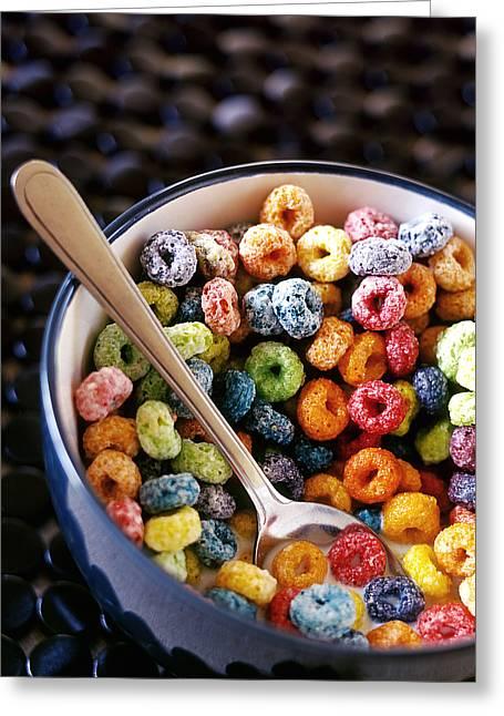 Fruit Loops Greeting Card by Tim Nichols