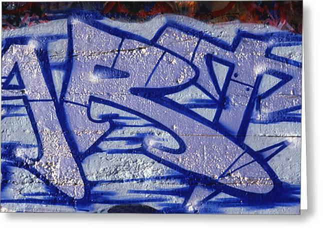Graffiti Art-art Greeting Card