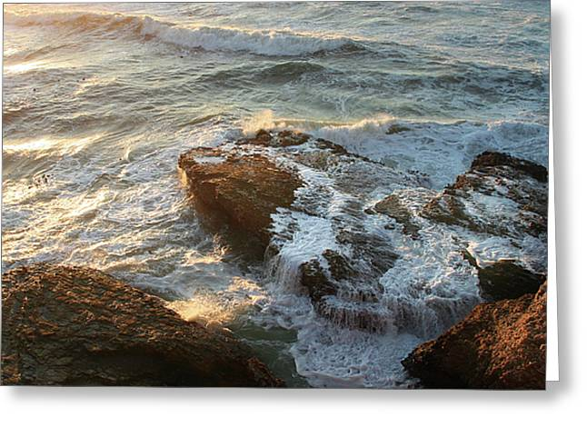 Greeting Card featuring the photograph Heart Rock by Michael Rock