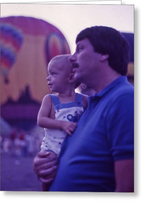 Hot Air Balloon - 6 Greeting Card by Randy Muir