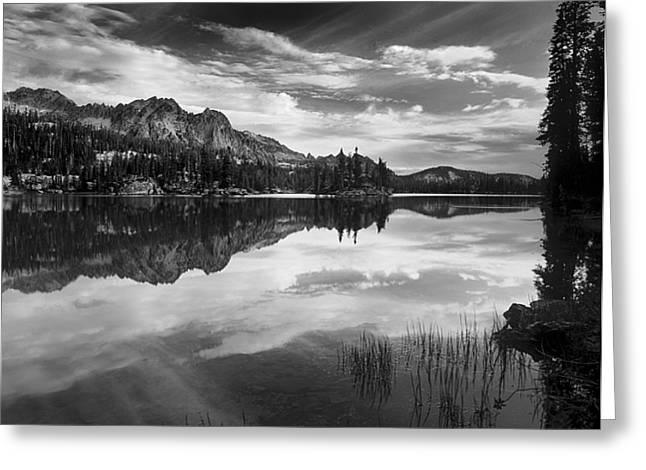 Imogene Lake Greeting Card by Leland D Howard