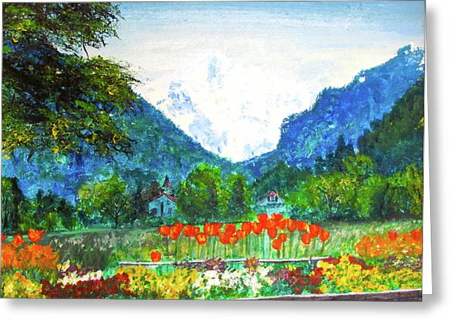 Interlaken Greeting Card