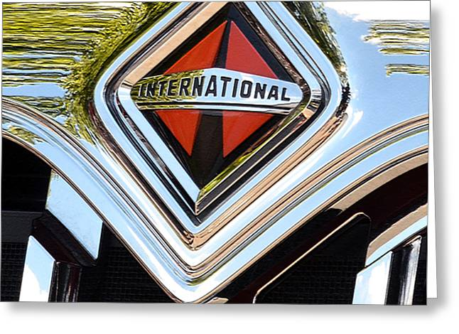 International Truck II Greeting Card by Bill Owen