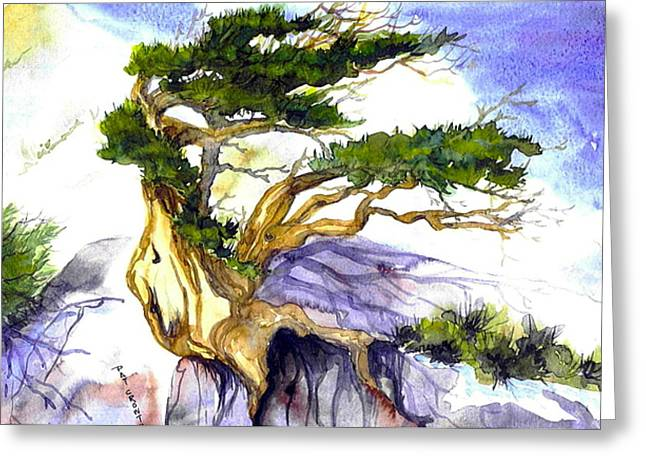 Juniper Blow Greeting Card