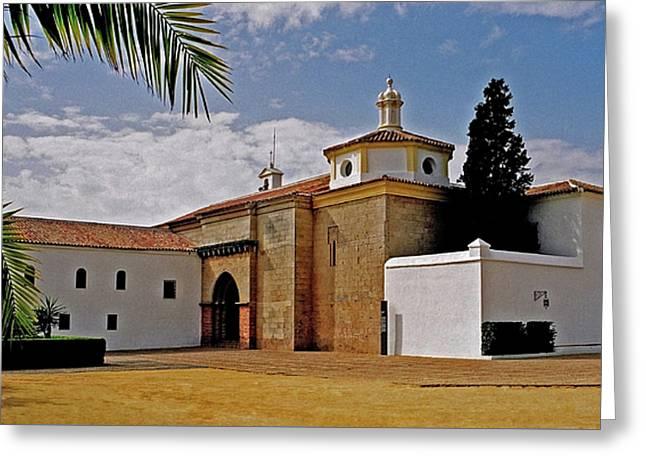 La Rabida Monastery - Huelva Greeting Card by Juergen Weiss