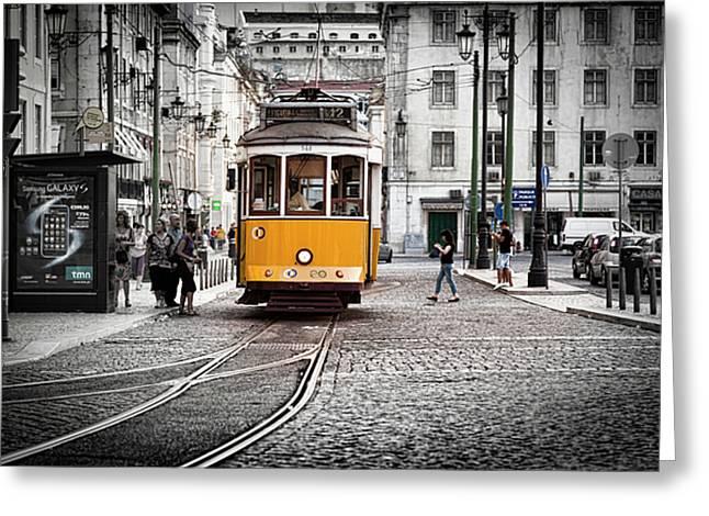 Lisboa Tram II Greeting Card