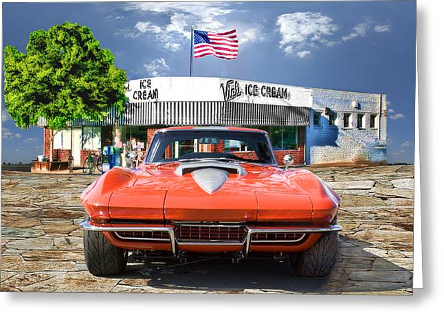 Greeting Card featuring the photograph Made In The U.s.a. by Michael Cleere