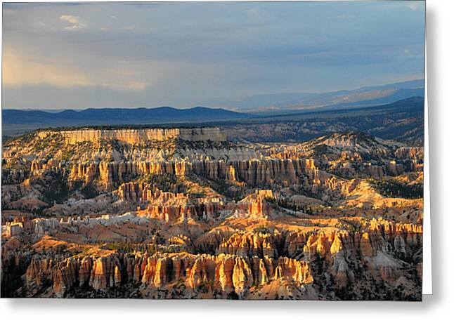 Magical Light At Bryce Canyon  Greeting Card