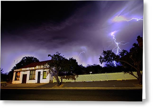 Midnight Storm Greeting Card by Tim Nichols