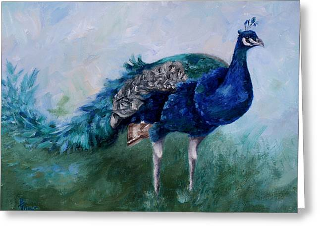 Mr. Peacock  Greeting Card