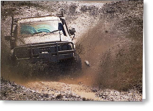 Mud Slinger Greeting Card