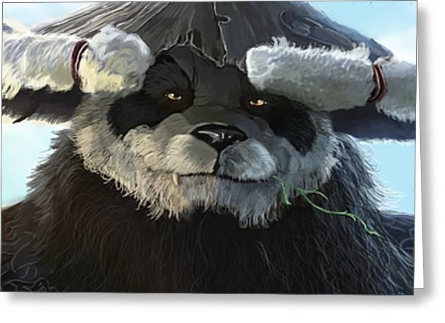 Pandaria Greeting Card by Jason Longstreet