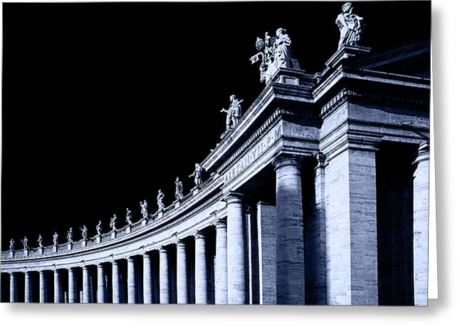 Pillars Greeting Card