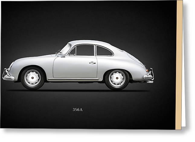 Porsche 356a Greeting Card