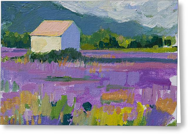 Provence Greeting Card by Marianne  Gargour