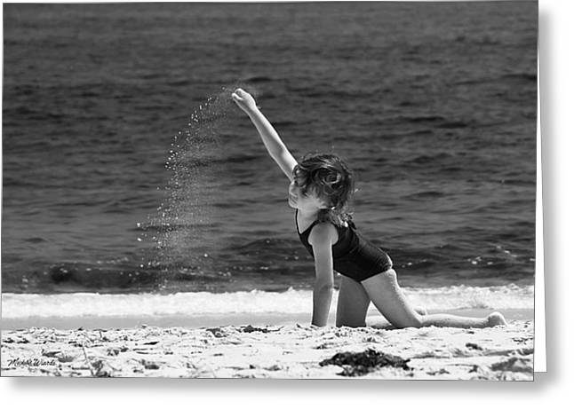 Sand Dancer Greeting Card by Michelle Wiarda