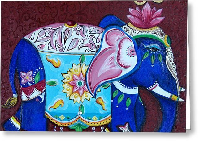 Sandra Kali Greeting Card by Sabina Espinet