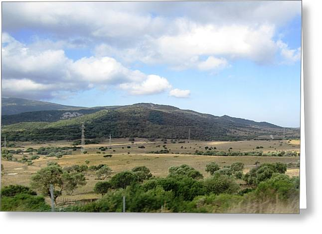 Spain Country Side Near Costa Del Sol Greeting Card by John Shiron