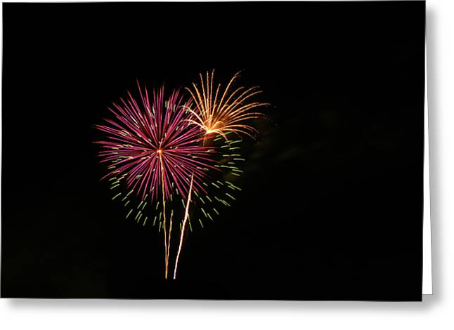 Greeting Card featuring the photograph Starburst by Larry Bishop