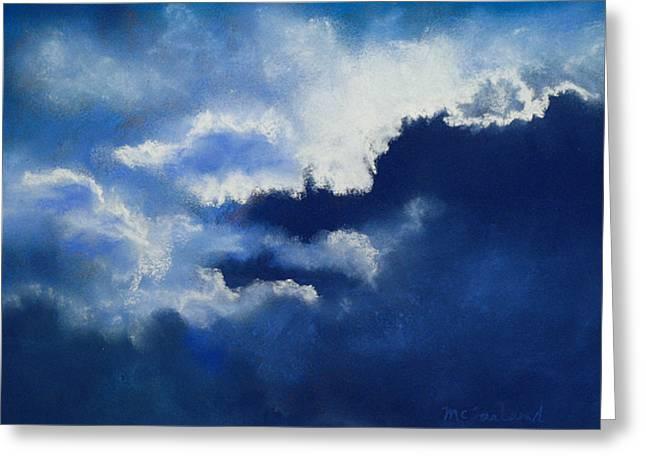 Stormy Sky Greeting Card by Lorraine McFarland
