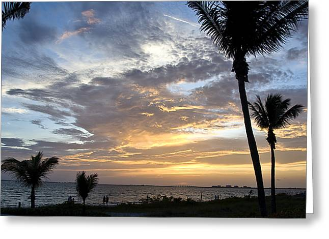 Sunset - Fort Myers Florida Greeting Card