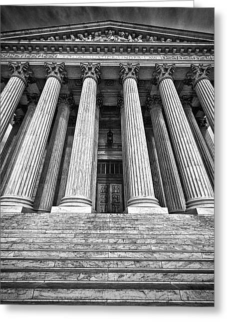 Supreme Court Building 10 Greeting Card by Val Black Russian Tourchin