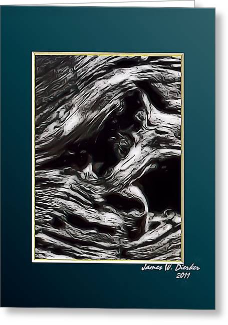 Twisted Greeting Card by James  Dierker