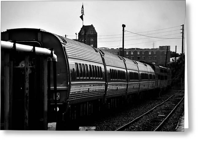 Union Station Tampa Greeting Card by David Lee Thompson