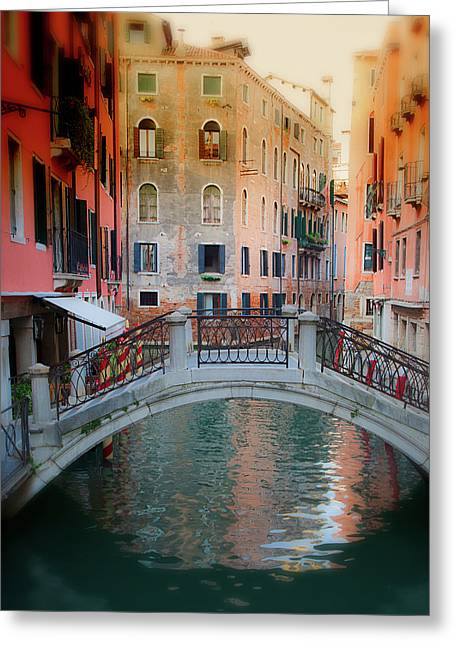 Venice Visions Greeting Card by Eggers Photography
