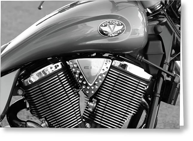 Victory Motorcycle Virginia City Nv Greeting Card by Troy Montemayor