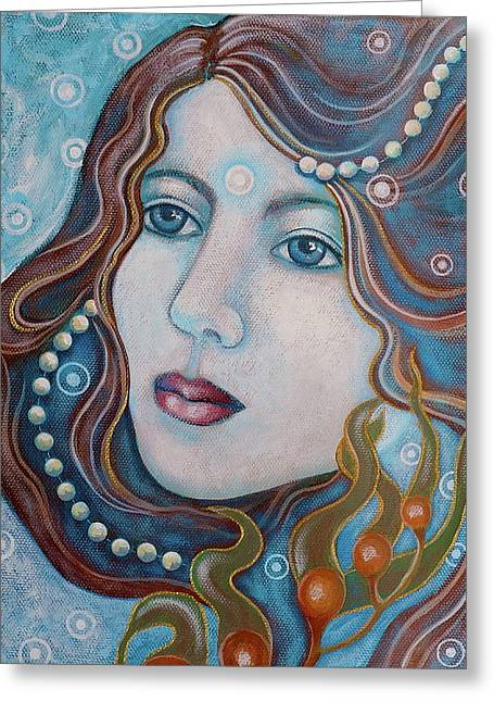 Water Dreamer Greeting Card by Sheri Howe