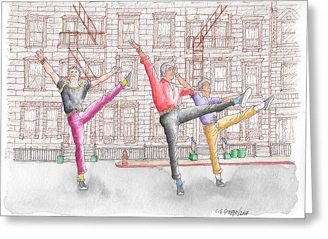 West Side Story, 1961 Greeting Card