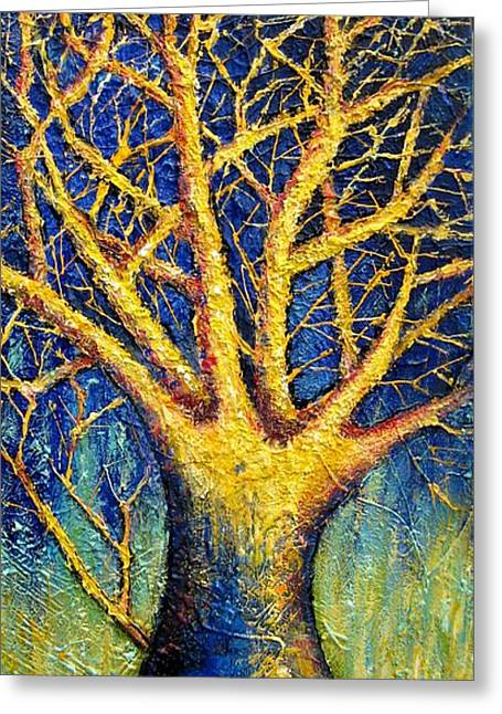 Wonder Tree Greeting Card