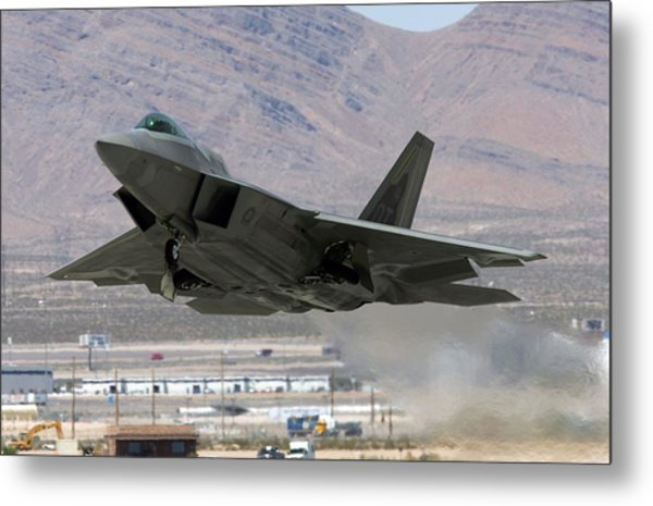 Air Force Holds Joint Expeditionary Force Experiment 2006 Metal Print by Ethan Miller