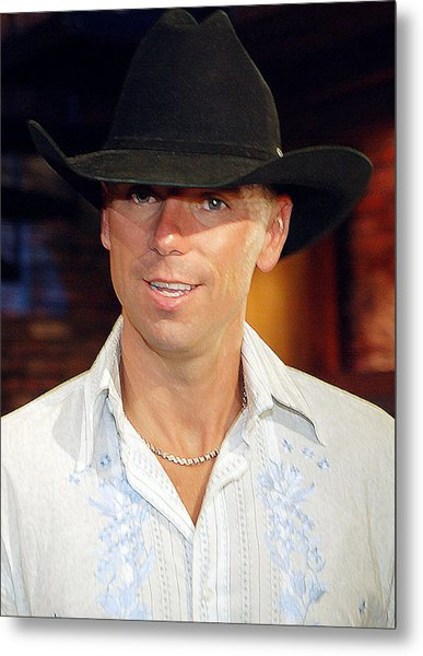 Kenny Chesney Metal Print