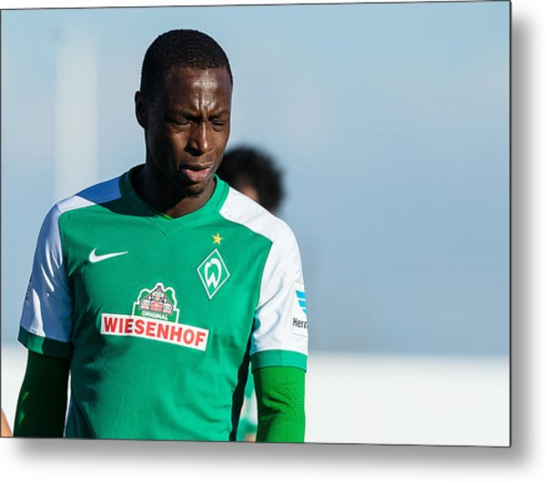 Sv Werder Bremen V Fk Austria Wien - Friendly Match Metal Print by TF-Images
