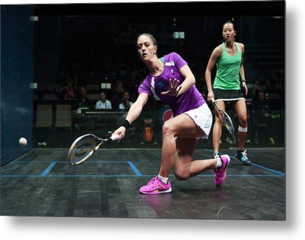 Women's World Team Squash Championship 2014 Metal Print by Vaughn Ridley