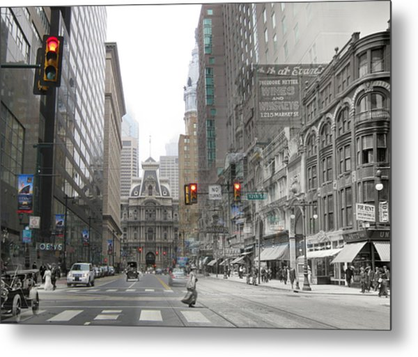 12th And Market Street Metal Print