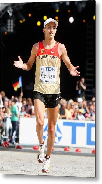 12th Iaaf World Athletics Championships - Day Eight Metal Print by Alexander Hassenstein