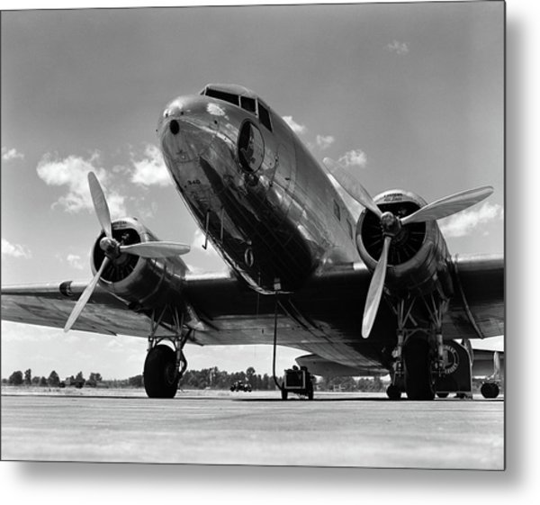 1940s Domestic Propeller Passenger Metal Print