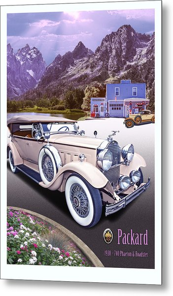 1930 Packard 740 Phaeton  Metal Print