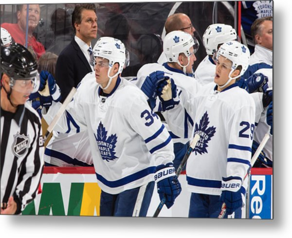 Toronto Maple Leafs V Ottawa Senators Metal Print by Jana Chytilova/Freestyle Photo
