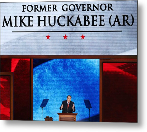 2012 Republican National Convention: Day 3 Metal Print by Mark Wilson