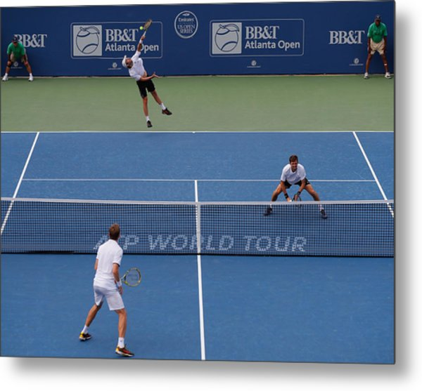 Bb&t Atlanta Open - Day 7 Metal Print by Kevin C. Cox