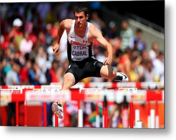 15th Iaaf World Athletics Championships Beijing 2015 - Day Five Metal Print by Alexander Hassenstein