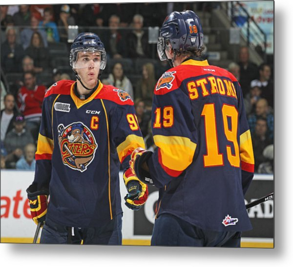 Erie Otters V London Knights Metal Print by Claus Andersen