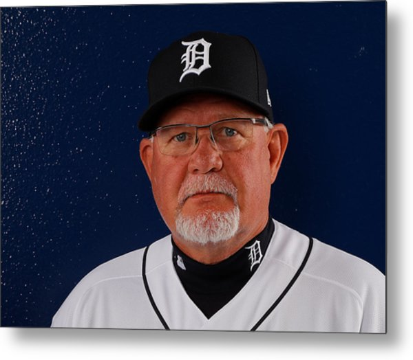 Detroit Tigers Photo Day Metal Print by Kevin C. Cox